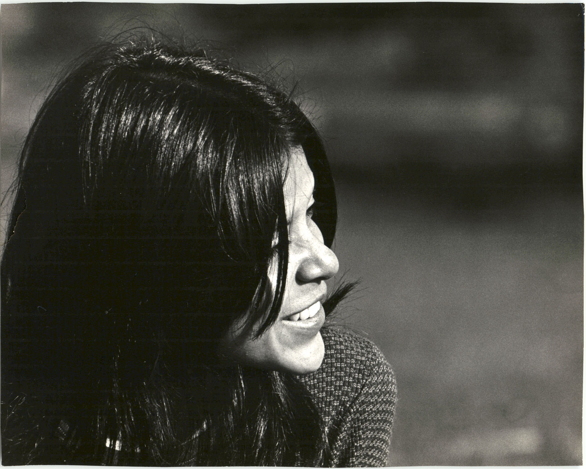 Young Woman Smiling Outdoors, University of California, Santa Cruz