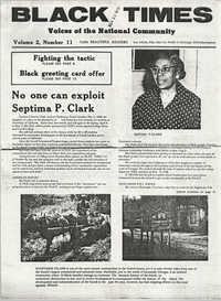 Newspaper Article, November 30, 1972