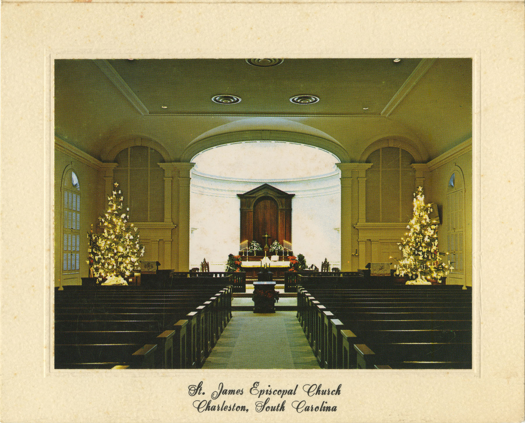 St. James Episcopal Church Interior