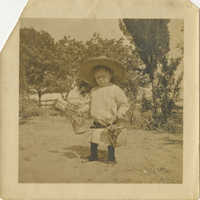 Child with Bucket and Shovel 1