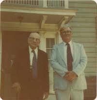 W.E. McLeod and Frank Holmes