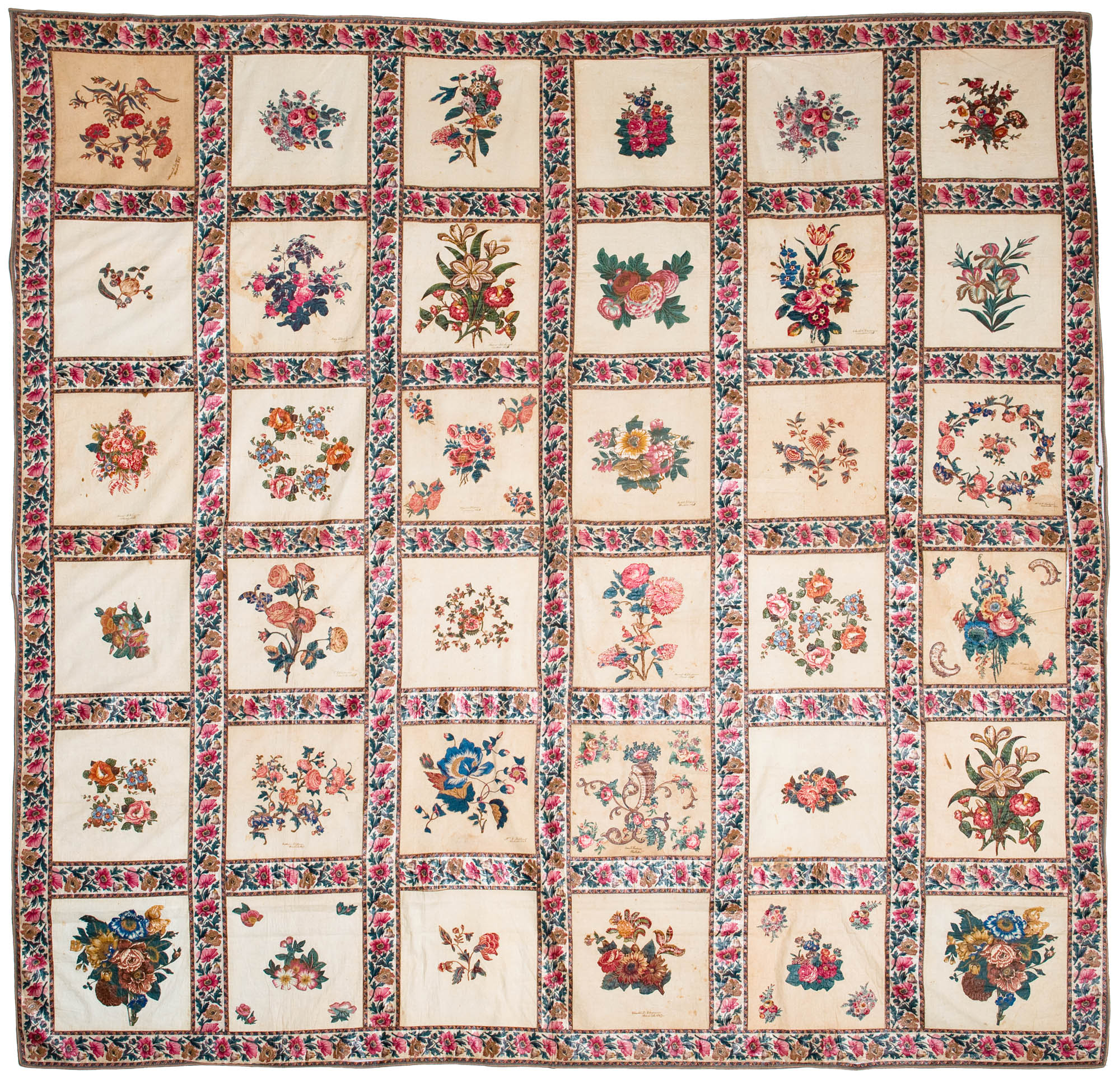Chintz Album Quilt