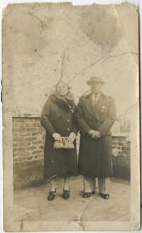 Ethel Fonse and Henry Poinsette
