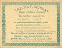 Certificate, June 12, 1983