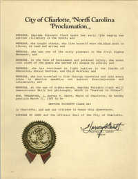Proclamation, March 21, 1985