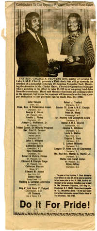 Newspaper Article, December 7, 1988