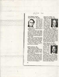 Newspaper Article, January 11, 1988