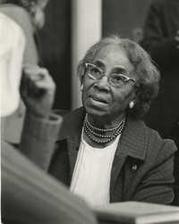 Septima P. Clark, May 1973