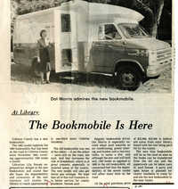 1982 Colleton County Memorial Library Bookmobile