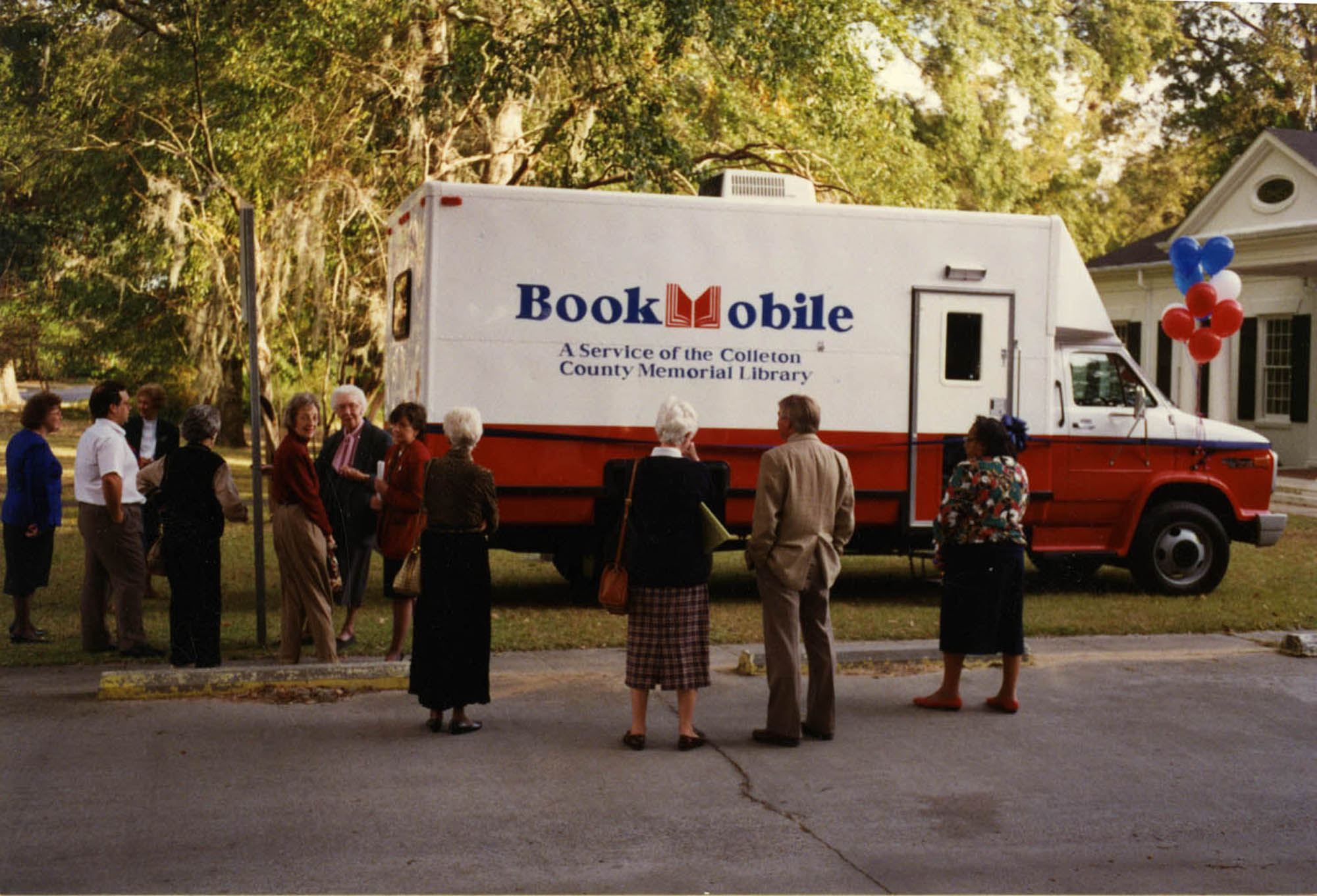 New Bookmobile Dedication