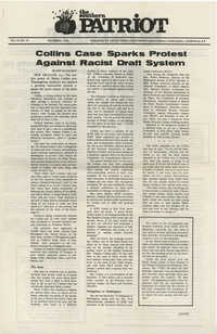The Southern Patriot Article on Walter Collins, December 1970
