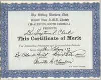 Certificate, February 25, 1979