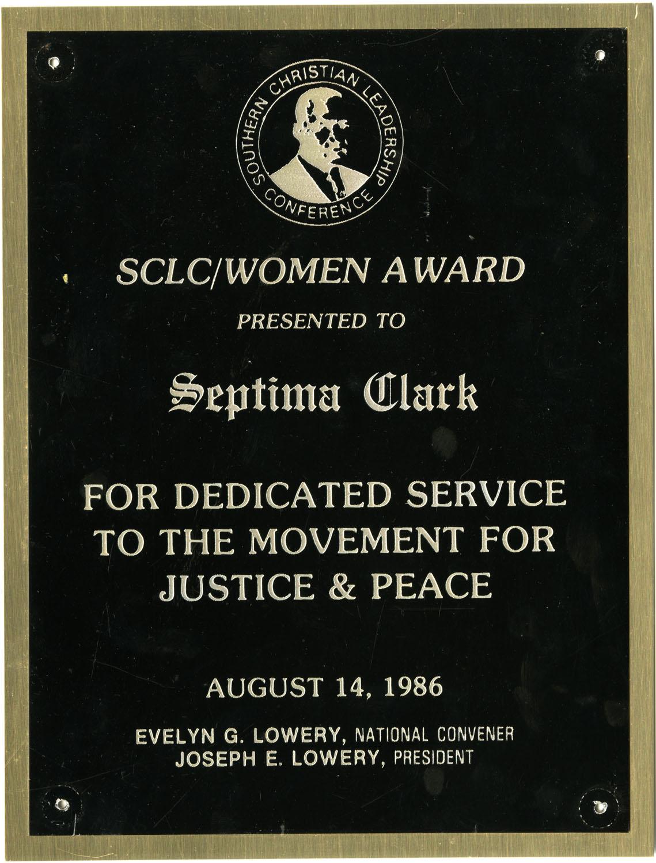 Plaque, August 14, 1986