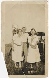 Lucille Poinsette, Peter Poinsette, Septima P. Clark, 1924