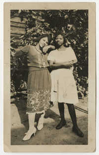 Ethel and Ruby Poinsette, 1923
