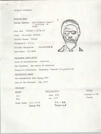 Resume, Lawrence Stanberry
