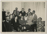 Large Group in Living Room