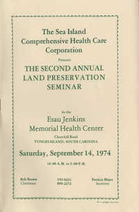 The Second Annual Land Preservation Seminar, September 14, 1974