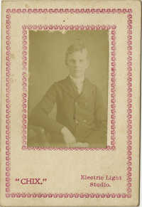 Portrait of Unidentified Young Man 1