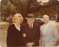 Photograph of Unidentified Man and Two Women