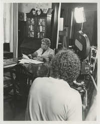 Septima P. Clark Being Filmed for Documentary