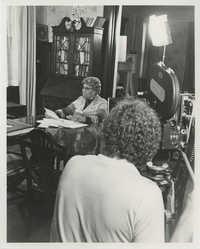 Septima P. Clark Being Filmed for Documentary