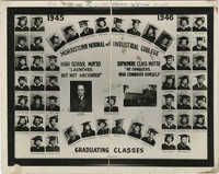 Morristown Normal and Industrial College Graduating Class, 1945-1946