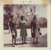 Dorothy Cotton, Annelle Ponder, Septima P. Clark in Mississippi, February 1963