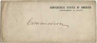 Envelope addressed Commission