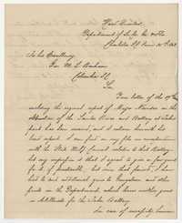 Gen. P. G. T. Beauregard Letter, June 25, 1863