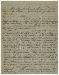 Capt. Thomas West Daggett Letter, June 1, 1861