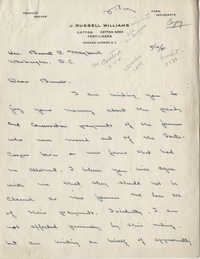 Santee-Cooper: Correspondence between J. Russell Williams, Senator Burnet R. Maybank, and John B. Wilson, Jr., November-December 1941