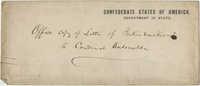 Envelope addressed to Cardinal Antonelli