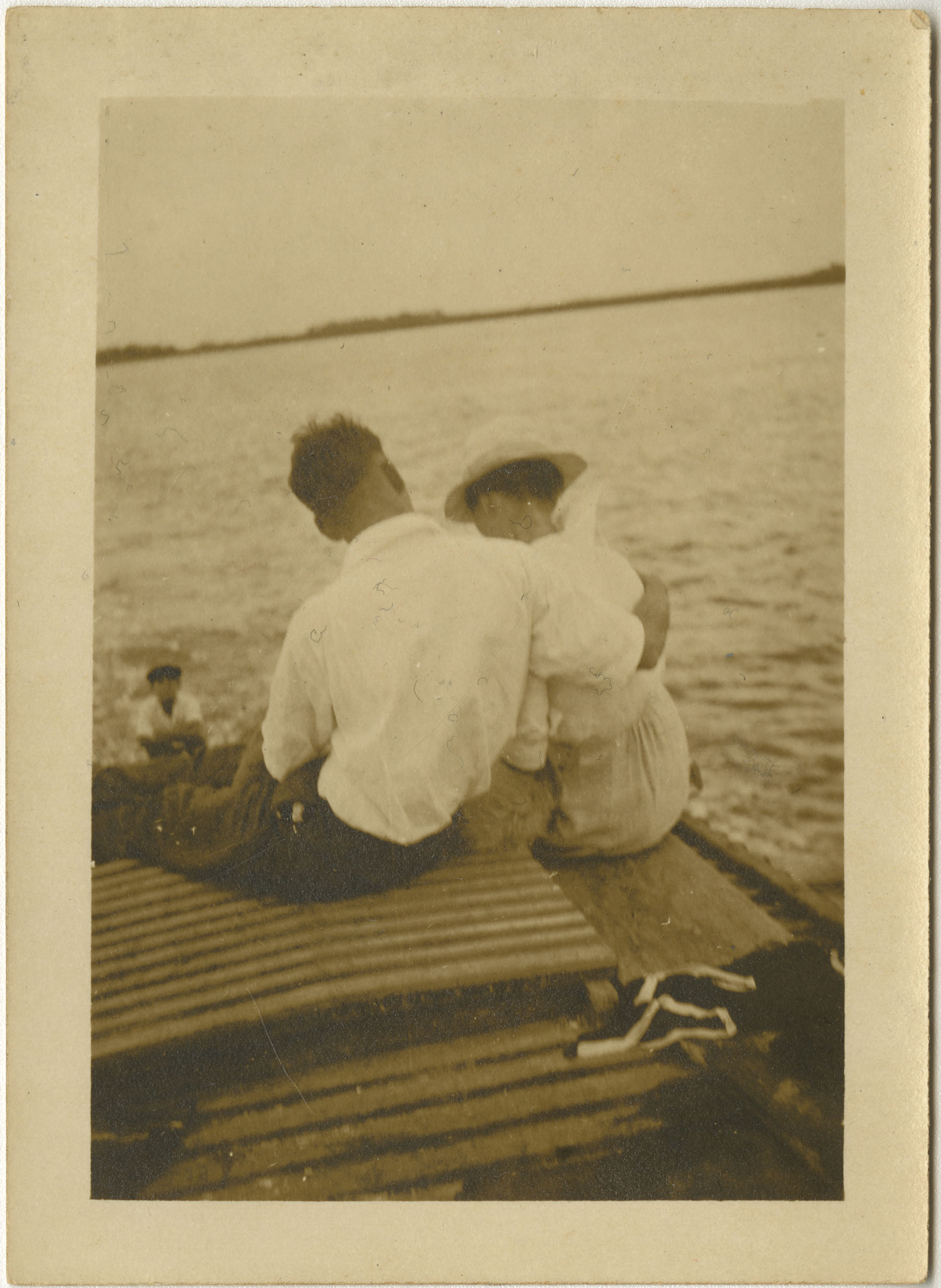 Couple on Boat