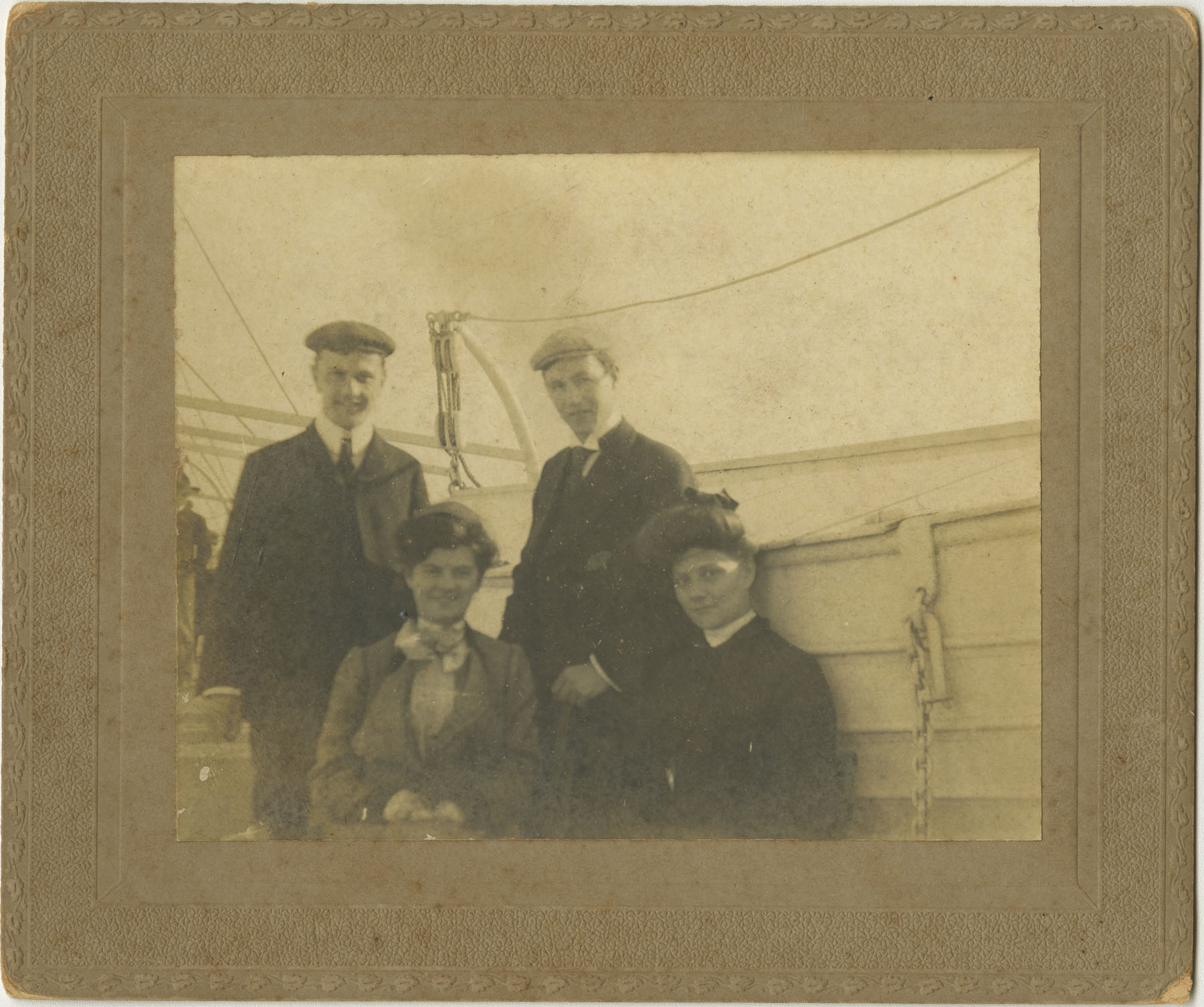 Couples on Boat Deck