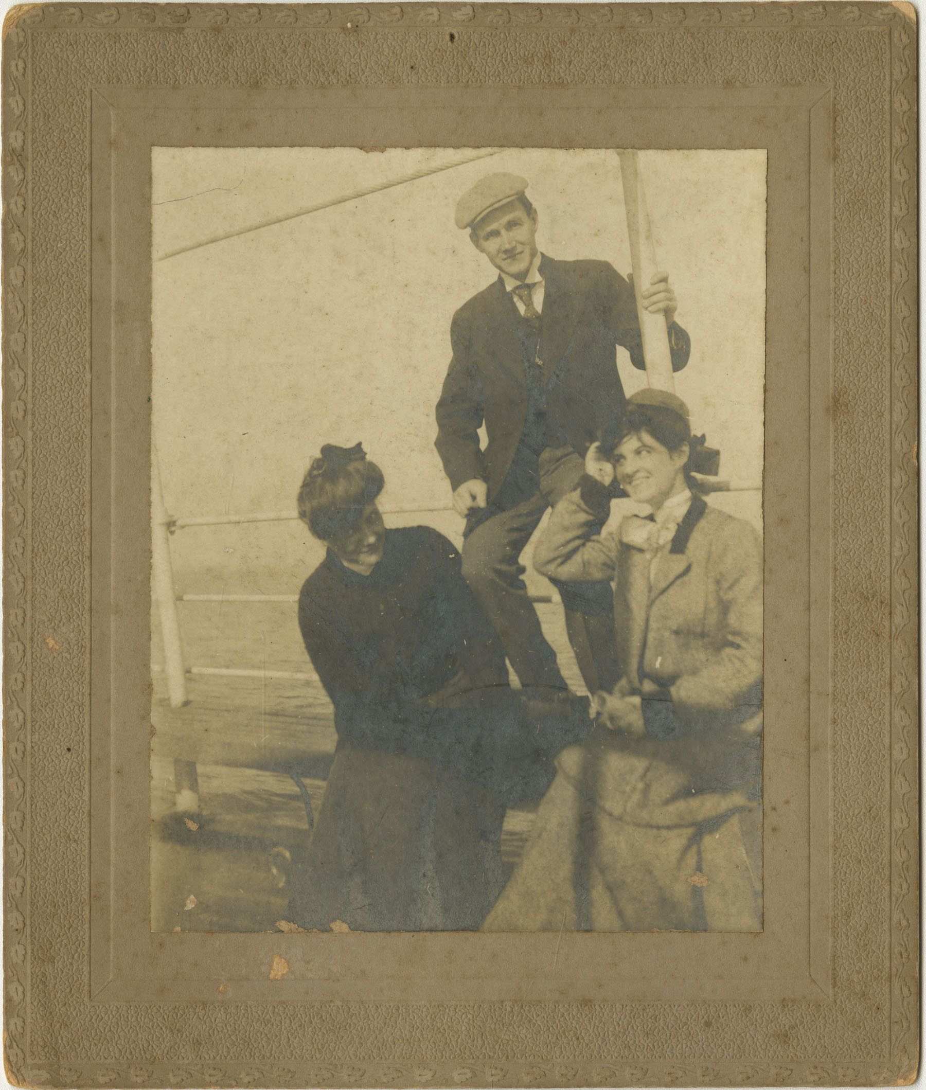 Group on Boat Deck
