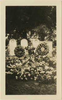 Flowers at Grave 1