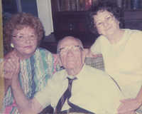 Mr. Willie McLeod, Mrs. Pope, and Majorie O'Keefe