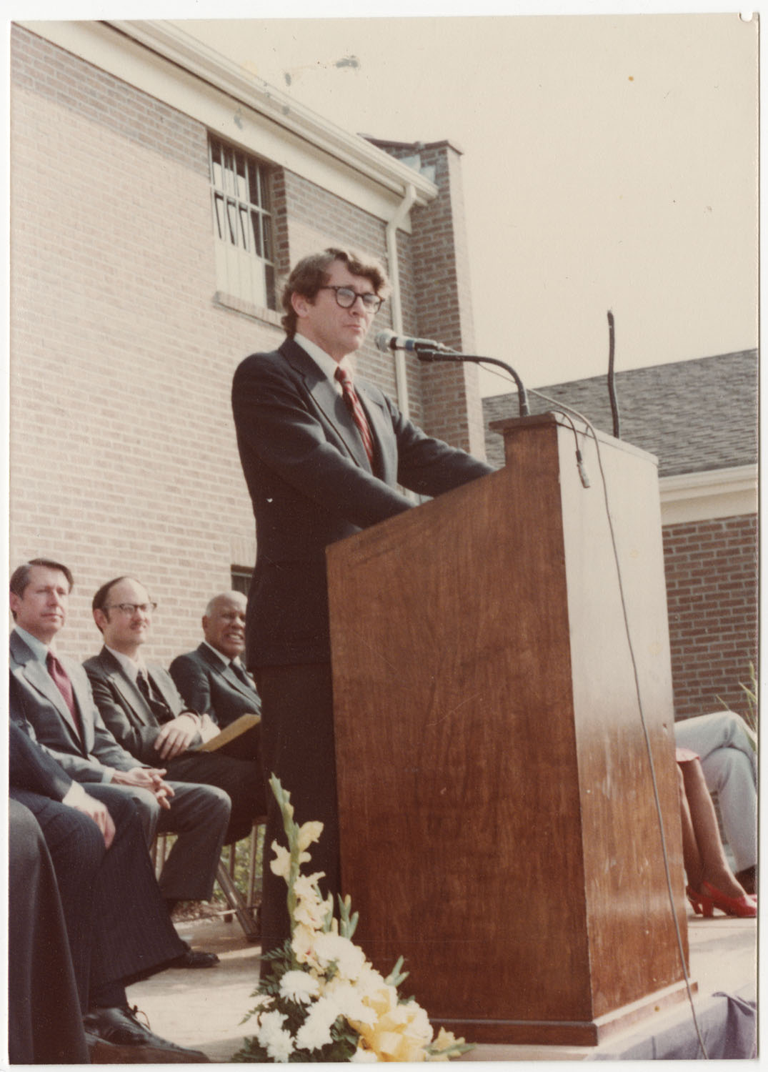 Joseph P. Riley, Septima P. Clark Day Care Center Ceremony, May 19, 1978
