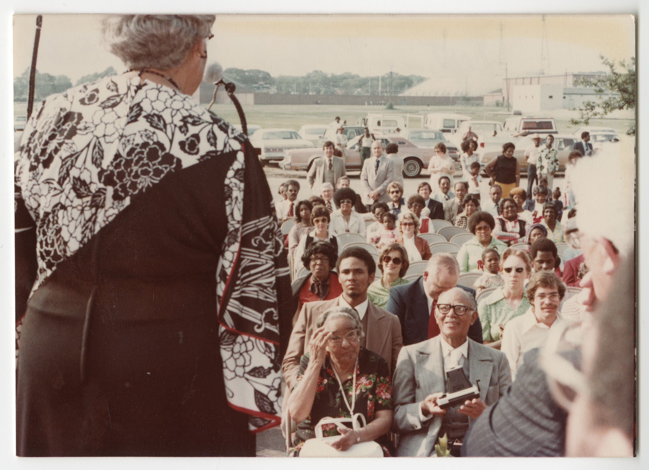 Septima P. Clark, Septima P. Clark Day Care Center Ceremony, May 19, 1978