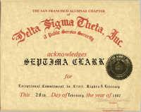 Certificate, February 28, 1987