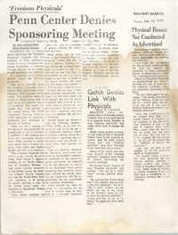 Newspaper Articles, 1969