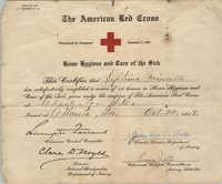 Certificate, October 22, 1919