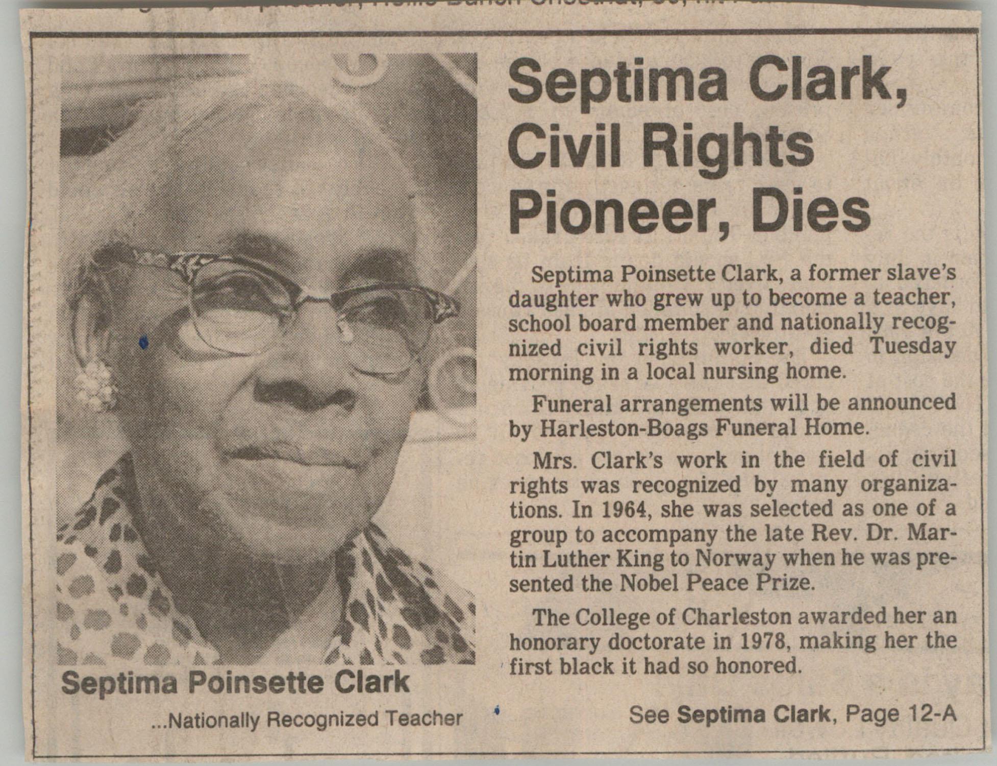 Newspaper Article, December 16, 1986