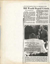Newspaper Article, December 16, 1988