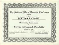 Certificate, October 13, 1984