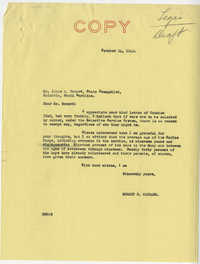 Teenage Draft: A letter from James A. Howard (State Evangelist, Columbia, S.C.) to Senator Burnet R. Maybank, October 22, 1942