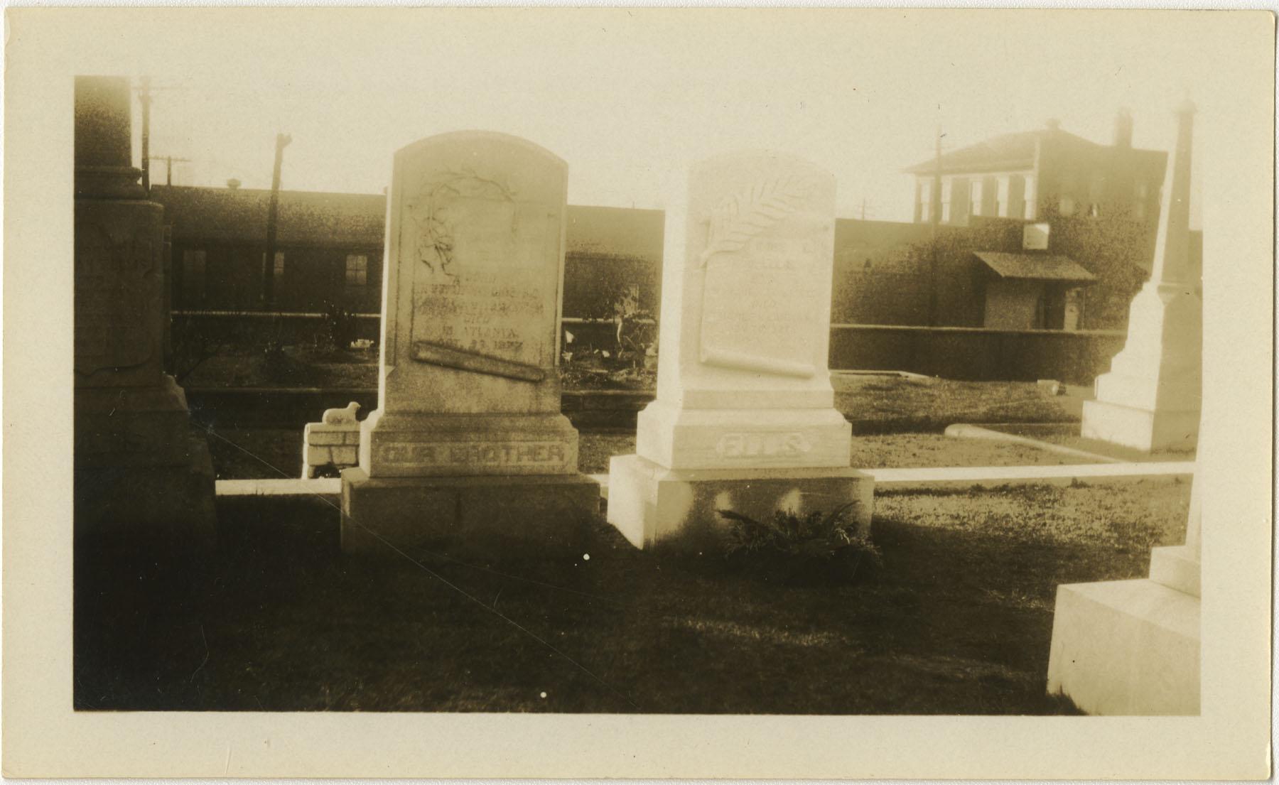 Ellis Gravestones 1