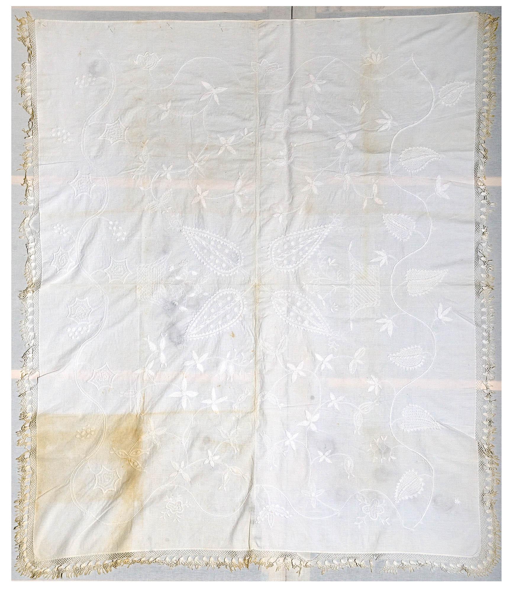 Whitework Coverlet
