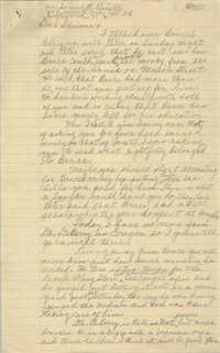 Letter from Septima P. Clark to Samuel R. Poinsette